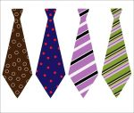 Vintage Neck Ties - Great for Xmas!