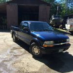 2002 Chevy S10 LS 4x4 5 speed manual pick up