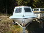 15' Fibre Glass Boat