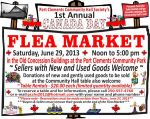 P.C. Community Hall's 1st Annual Canada Day Flea Market