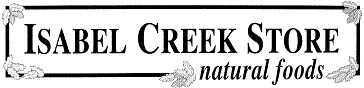isabel creek store logo black and white
